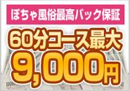 ぽちゃ風俗店最高バック60分9000円って本当??何故高額バックが可能なのか、その秘密を大公開します!