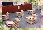 新店なので最新鋭の事務所で清潔感がありとても過ごしやすい事務所になります。