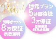 新しい選べる2つの保証!!60分¥15,000バック