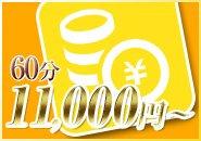 採用時の最低報酬は未経験の方は60分11,000円~!エステ業界でもTOPクラスの報酬です!