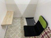 個室待機スペース完備★1部屋1部屋仕切られて快適に過ごすことが出来ます。