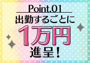 ◆出勤する毎に1万円進呈♪◆お給料とは、別に毎日、出勤すれば必ず1万円貰えます!!