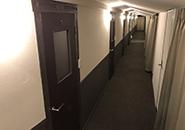 長い廊下です!!!