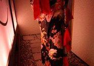 制服も和柄ドレスでかわいいですよ☆