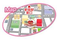 歌舞伎町ドンキから徒歩2.3分当店の場所が分からなければ新宿駅東口出口・西武新宿駅出口よりお気軽に0120-304-607までお問い合わせ下さい。
