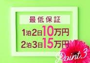 出稼ぎ大歓迎!!最低保証1日5万円!!宿泊費・交通費は必要ありません!!