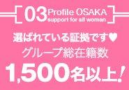 【大阪・京都・奈良・滋賀・和歌山 姫路・岡山】 これだけの在籍をしているお店は 関西でも見当たりません。 理由は沢山の方々があなたを 全員でプロディース・完全バックアップ 体制が整っているからです♪